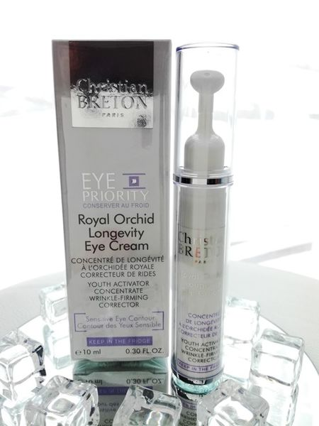 Orkidea silmänympärysvoide - Christian BRETON Royal Orchid Longevity Eye Cream 10 ml