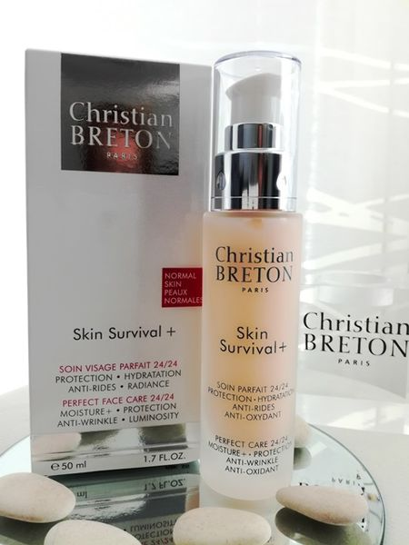 24h hoitovoide normaalille iholle - Christian BRETON Skin Survival+ Normal Skin 50 ml