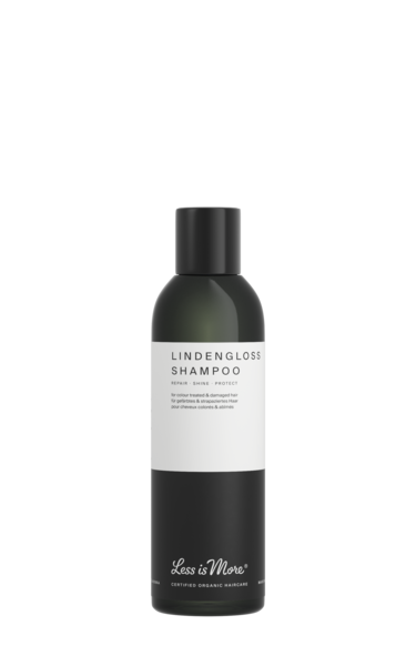 Lindengloss Shampoo - korjaava shampoo 200 ml, Less is More